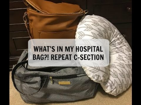 WHAT'S IN MY HOSPITAL BAG!? I REPEAT C-SECTION! I BABY NUMBER 3!