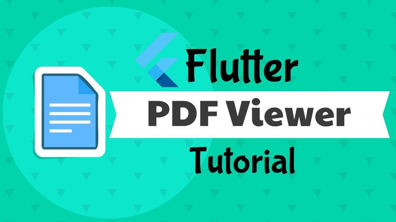 Flutter: PDF Viewer Tutorial Android & IOS | From URL & Asset