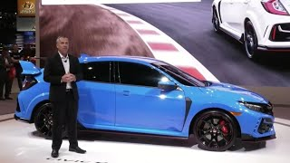 Catch the Honda Civic Type-R FULL presser at the Chicago Auto Show 2020