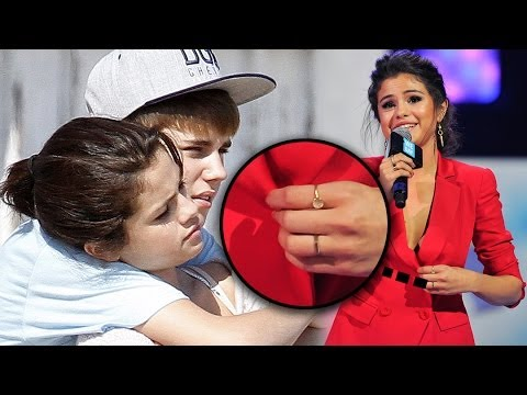 Selena & Justin Engaged?! Ring Details - YouTube