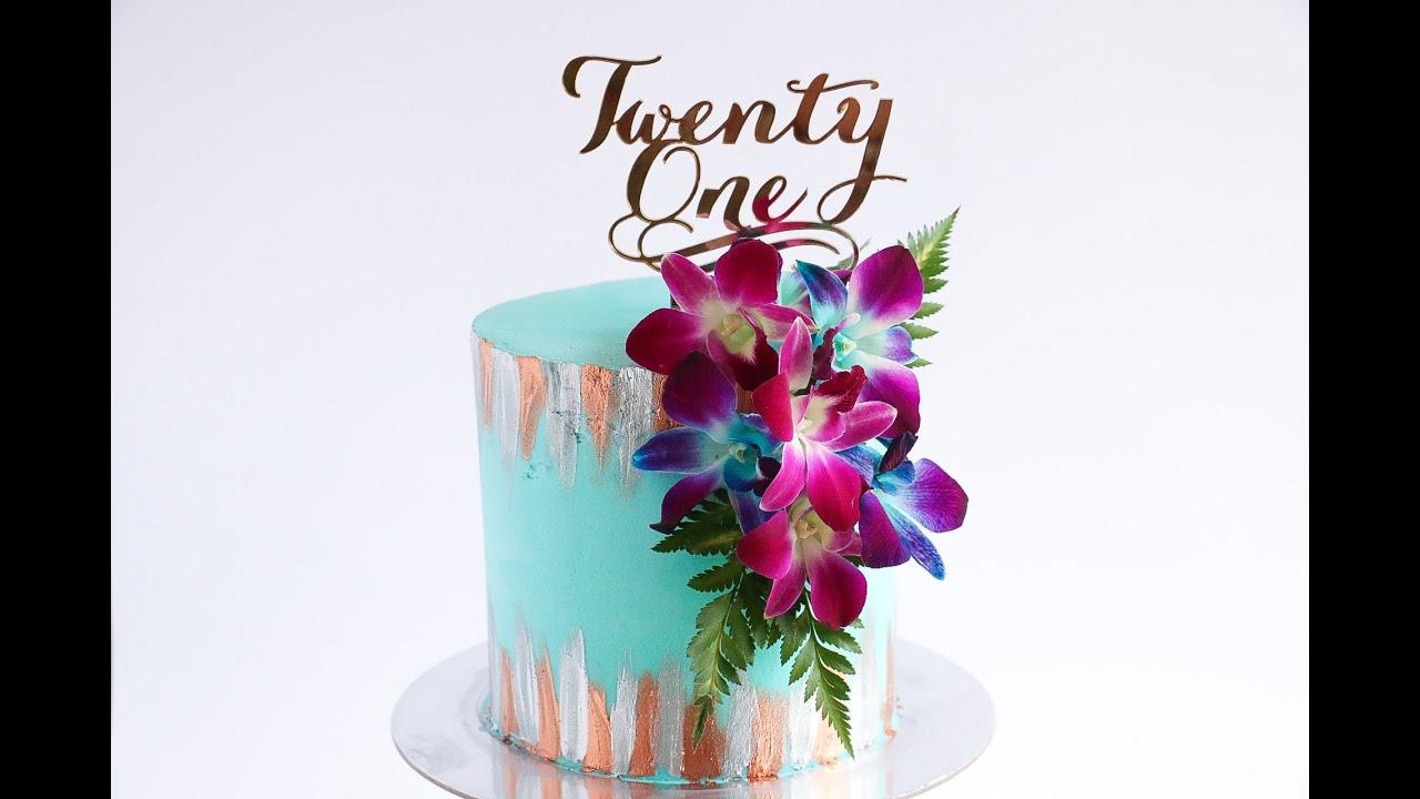 Painting Birthday Cake Ideas