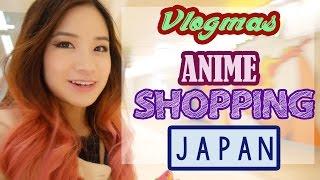 anime shopping in japan   vlogmas 9   kimdao in japan