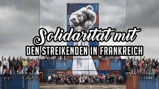 SOLIDARITÄT MIT DEN STREIKENDEN IN FRANKREICH! - DIDF Jugend