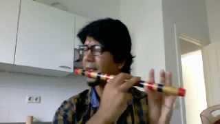 hero flute lambi judai on bansuri flute