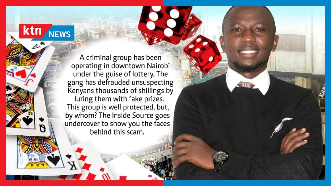 Download GAME OF CONS: Gang robbing & defrauding Kenyans by luring them with fake prizes | Inside Source