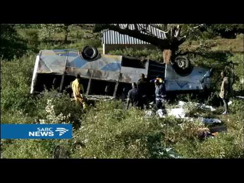 Death toll rises to 14 in KZN bus crash