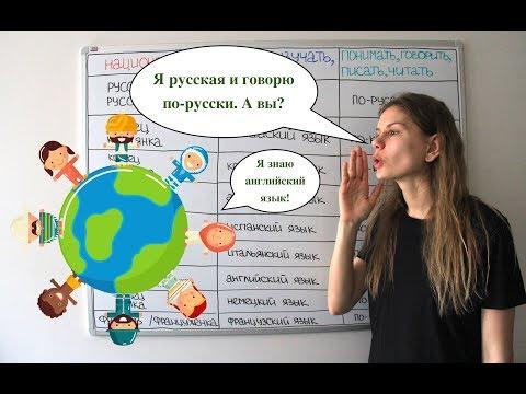 Русский, русская или по-русски? || НАЦИОНАЛЬНОСТИ