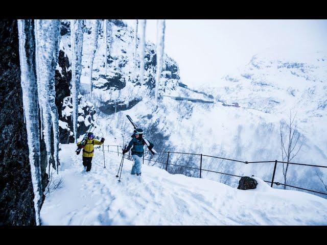 Thumbnail: The Ski Train—Tobin Seagel and Giulia Monego Explore Vatnahalsen