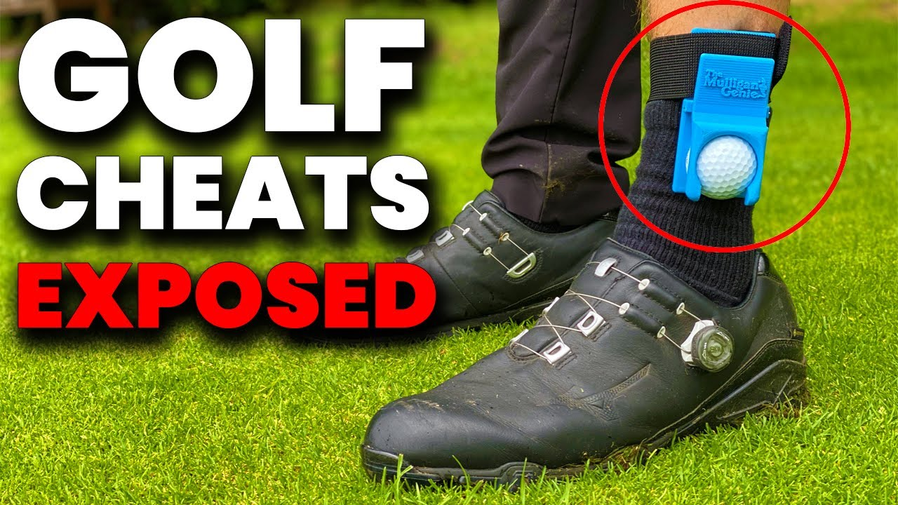 TOP 5 WAYS PEOPLE CHEAT AT GOLF  !