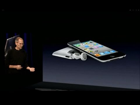 Apple Music Event 2010 - 4G iPod Touch Introduction