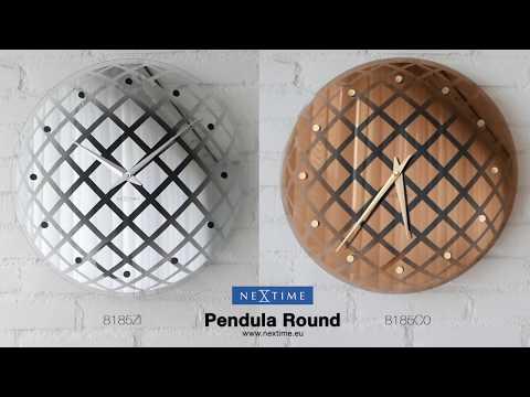 NeXtime - Pendula Round - 8185