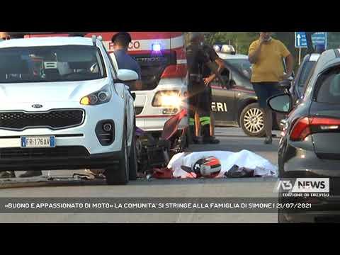 «BUONO E APPASSIONATO DI MOTO» LA COMUNITA' SI STRINGE ALLA FAMIGLIA DI SIMONE | 21/07/2021