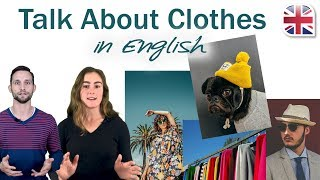 How to Talk About Clothes in English - Spoken English Lesson