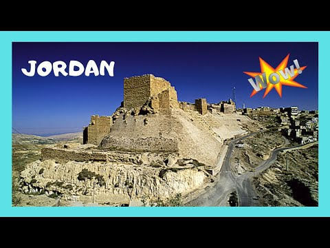JORDAN: The historic CRUSADER CASTLE of KARAK (Kerak)