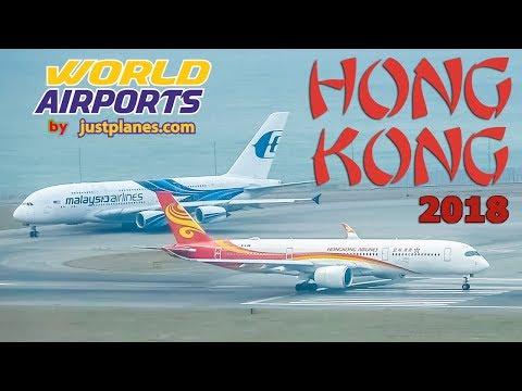 GREAT PLANE SPOTTING : Hong Kong (2018)