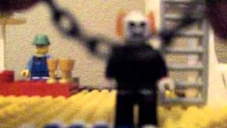 How to make a lego Ghost Rider minifigure