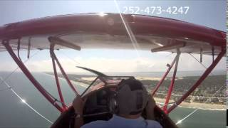Outer Banks Biplane Air Tour with Ned Over OBX Thumbnail