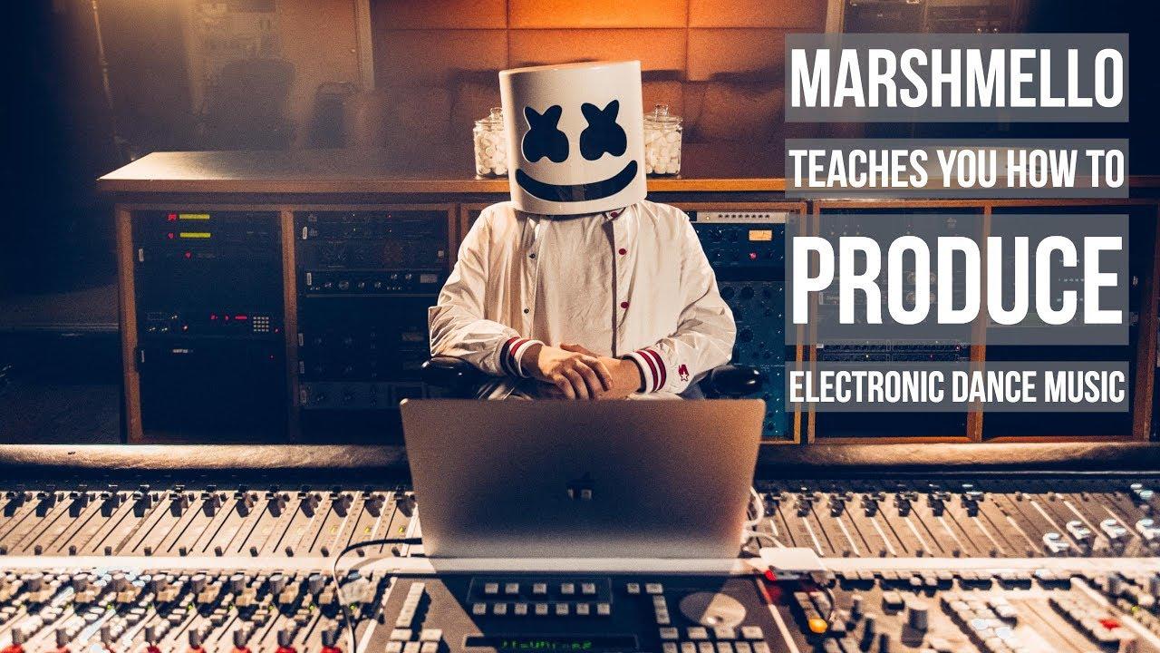 Marshmello Teaches You How To Produce Dance Music