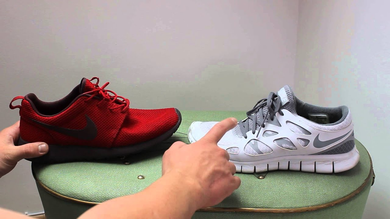 Nike Free Vs Run Roshe