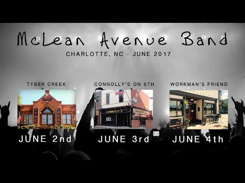 McLean Avenue Band - Charlotte, NC - June 2017