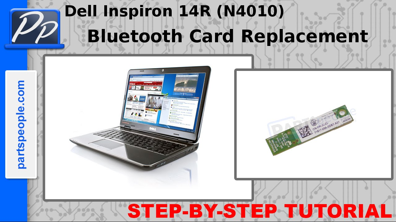NEW DRIVER: DELL INSPIRON N4010 BLUETOOTH