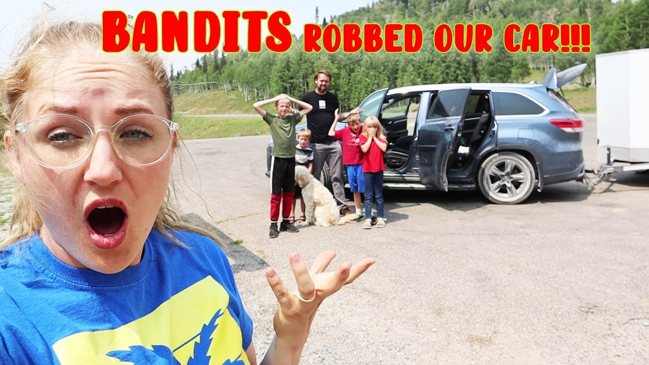 Someone Broke Into Our Car! We're Robbed!
