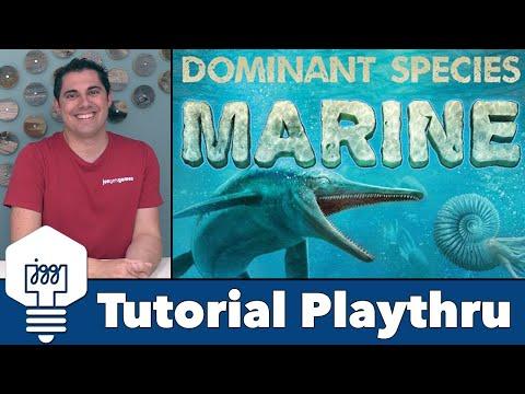 Dominant Species: Marine - Tutorial & Playthrough