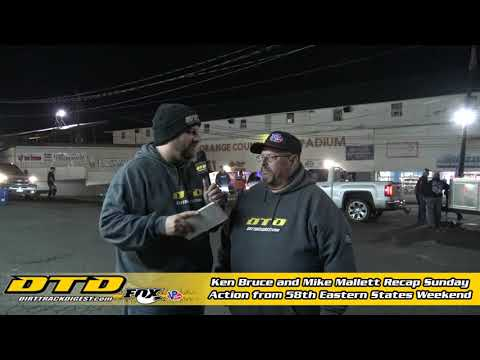 Recap of 58th Annual Eastern States 200 from the Orange County Fair Speedway 10/27/19