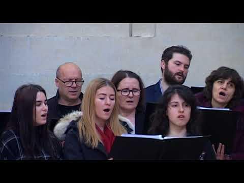 """Corul Bisericii Adventiste Grenelle  """"Sabatul Sfant""""  03 martie 2018"""
