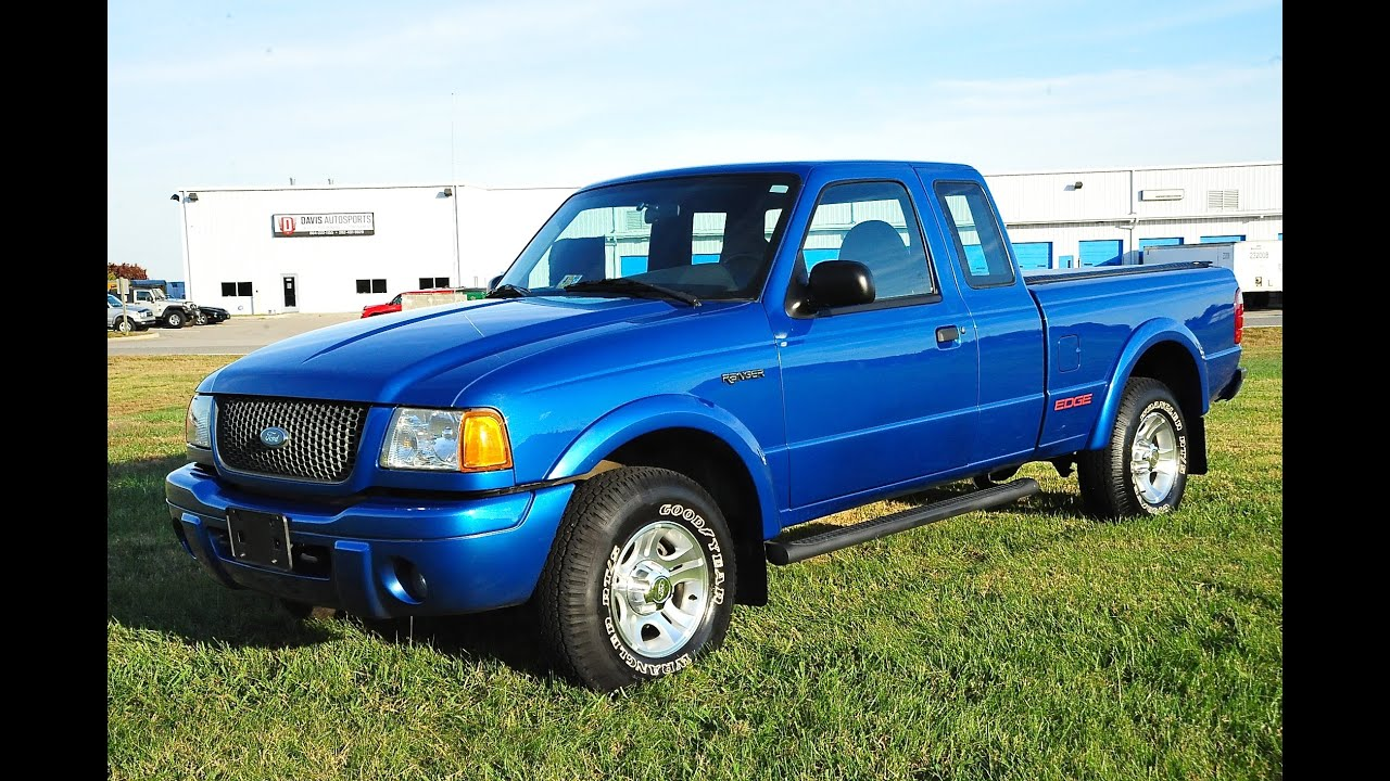 Davis AutoSports 2001 Ford Ranger Edge 30k Mint Condition