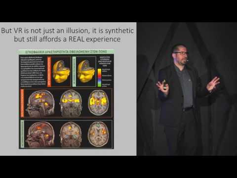 The need to design content for immersive VR experiences | Dimitris Charitos | TEDxAlexandroupolis