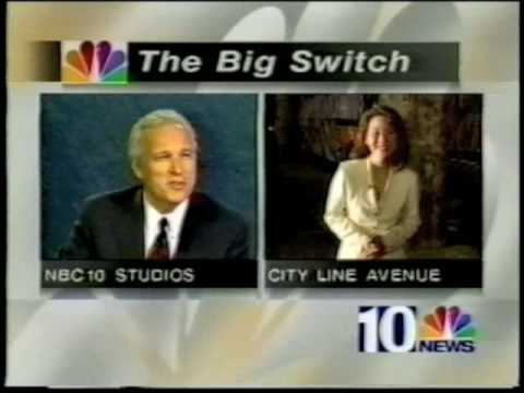 Philly CBS and NBC 1995 On Air Swap