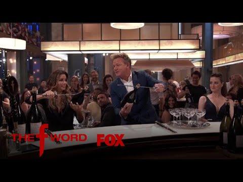 Eva Longoria Pops Open Champagne With A Sword | Season 1 Ep. 11 | THE F WORD