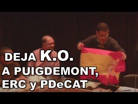 ¡¡BESTIAAL!! Concejal del PP de Cataluña METE UN REPASO MEMORABLE a PUIGDEMONT, ERC y PDeCAT