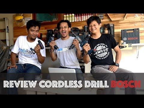 Ulasan bor cordless bosch (Review Cordless Drill Bosch)