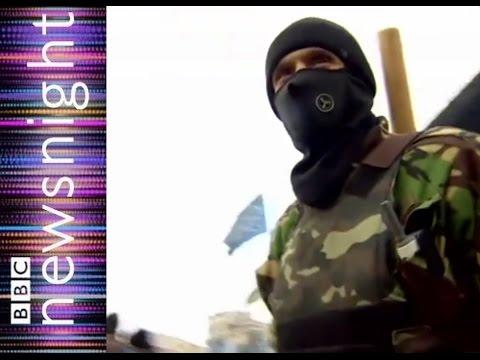 Neo-Nazi Threat In New Ukraine: NEWSNIGHT