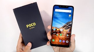 Xiaomi Poco F1 Steel Blue Unboxing & Hands on Review - First Impression | Camera Samples