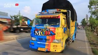 AWAS GASRUKK !!! Truck Hampir Gasrukk Bampernya