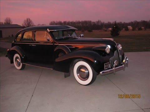 1939 Buick Roadmaster Limo Restoration Movie Youtube