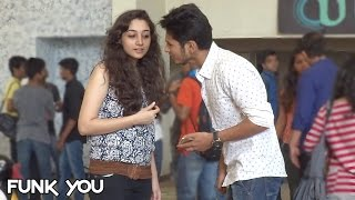 Picking up Girls with a Rose by Funk You (Prank in India)