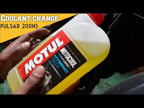 Pulsar 200 ns coolant change after 3 years-Hindi
