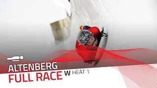 Altenberg | BMW IBSF World Cup 2018/2019 - Women's Skeleton Heat 1 | IBSF Official