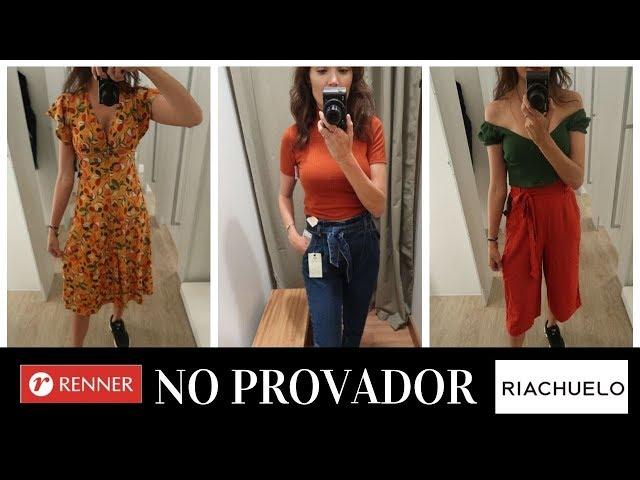 LOOKS NO PROVADOR RENNER E RIACHUELO - LUANA VIANA
