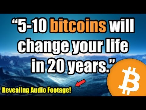"""Only 5-10 Bitcoin Will Change Your Life In 20 Years."" [How To Think About Bitcoin As An Investor]"