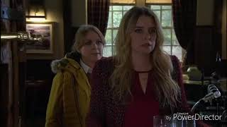 Emmerdale - Charity and Vanessa Kiss (12th April 2018)