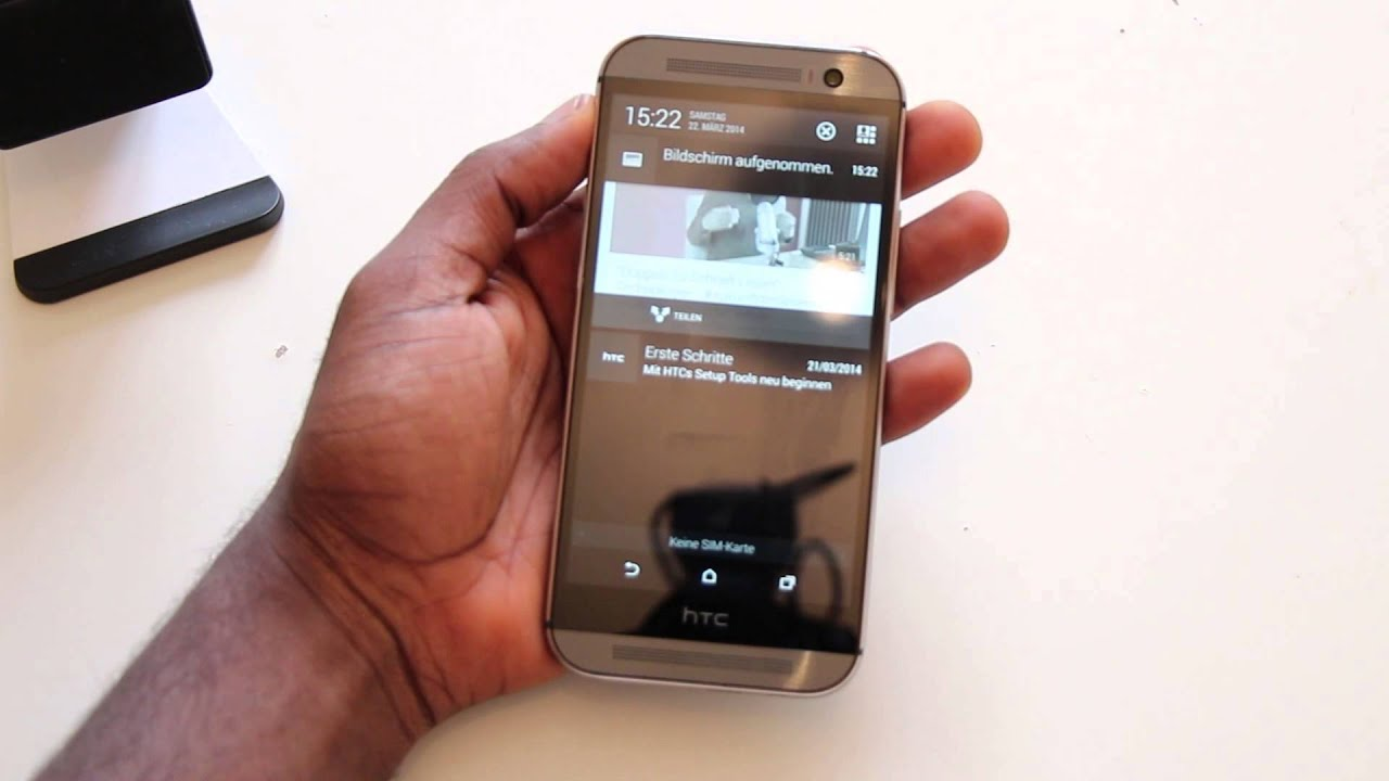 htc one m8 screenshot machen wie mache ich einen screenshot mit dem htc one m8 youtube. Black Bedroom Furniture Sets. Home Design Ideas