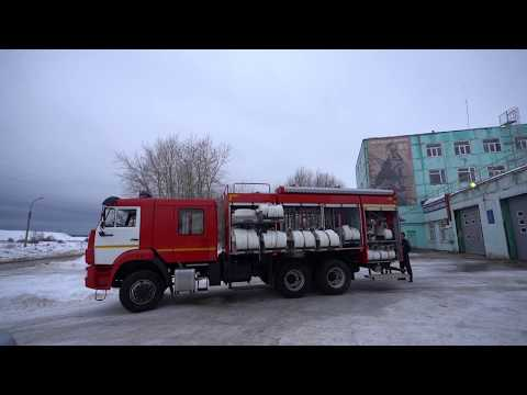 Новый пожарный автомобиль