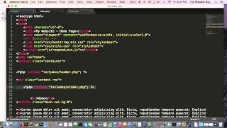 Advance Bootstrap Tutorial With PHP #16  Creating a Dynamic Slider In Bootstrap with PHP