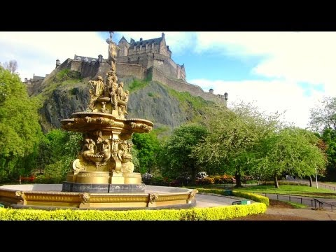 Edinburgh Scotland - Princes Street Gardens