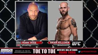 Frank Trigg pre-fight interview with UFC Gdansk's Brian Kelleher